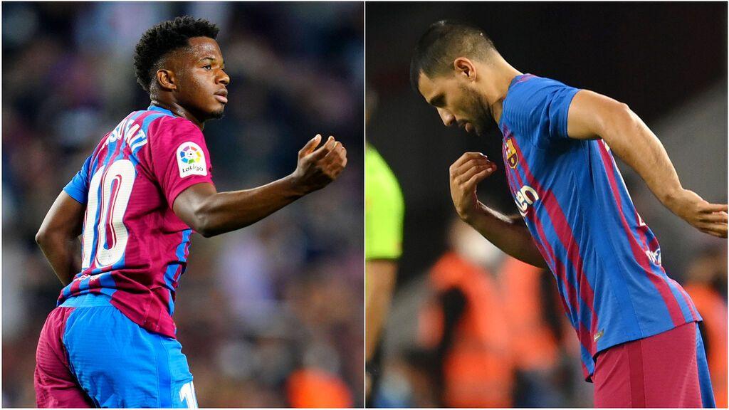 Koeman recupera efectivos en un momento crucial: Ansu, enchufado y Agüero debuta