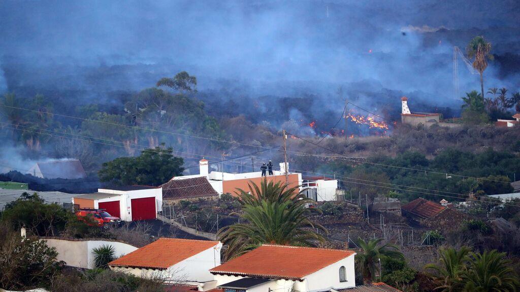 Permiten la retirada de enseres en propiedades fuera del perímetro de seguridad en La Palma