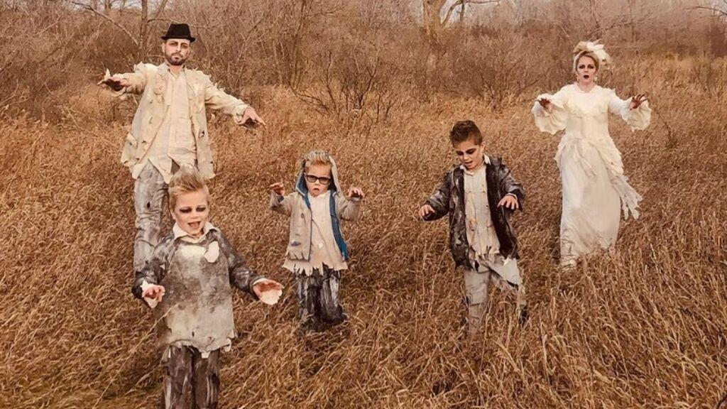 Disfraces de Halloween para familias: ir vestidos en sintonía también es divertido
