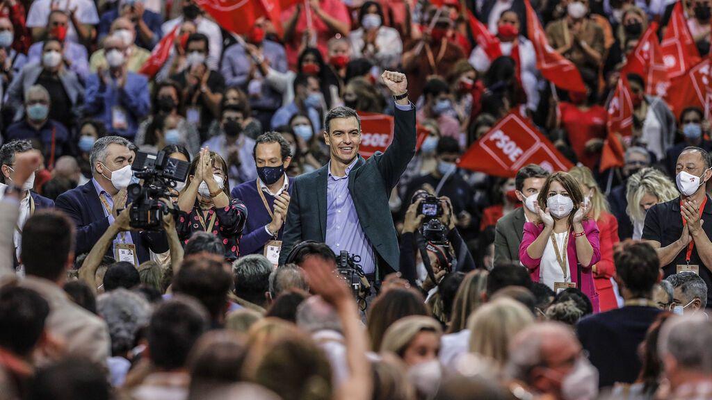 Sánchez clausura el 40º Congreso Federal del PSOE