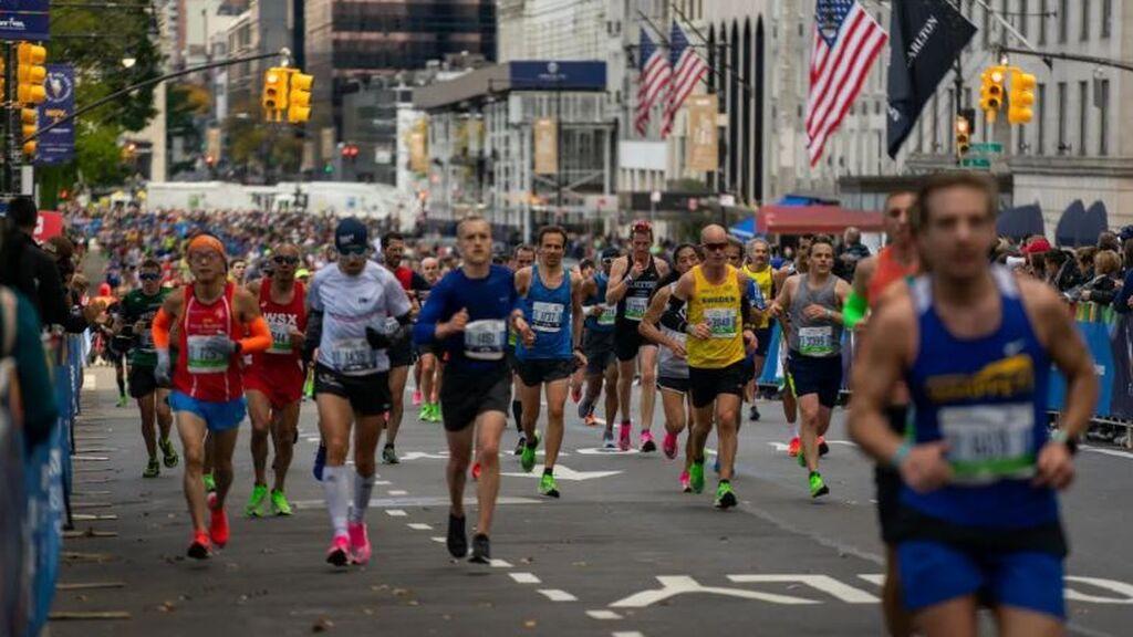 El covid impide que los corredores extranjeros participen en el maratón de Nueva York