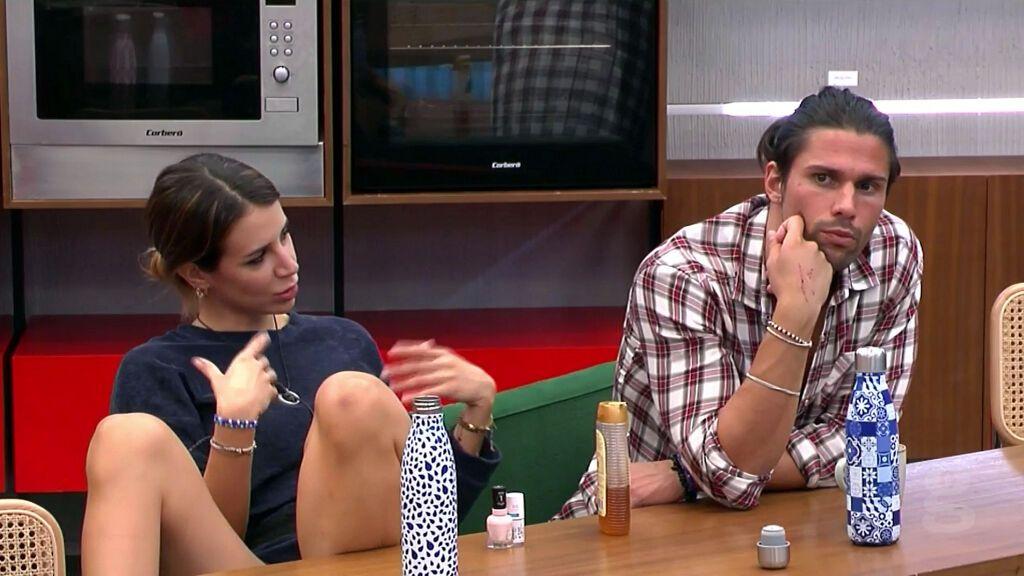 """Cristina intenta tener """"la conversación"""" con Luca, pero le sale rana"""