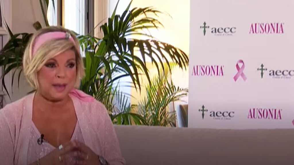 Terelu Campos no teme pronunciar la palabra cáncer porque le da esperanzas