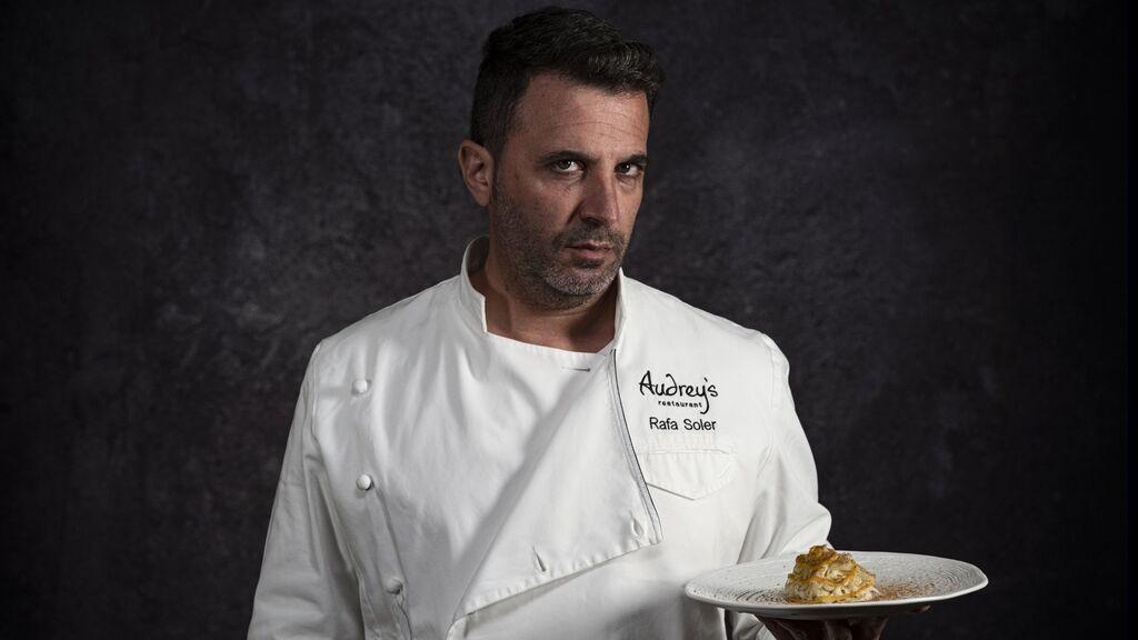 El chef Rafa Soler del restaurante Audrey's, elegido mejor cocinero de 2020
