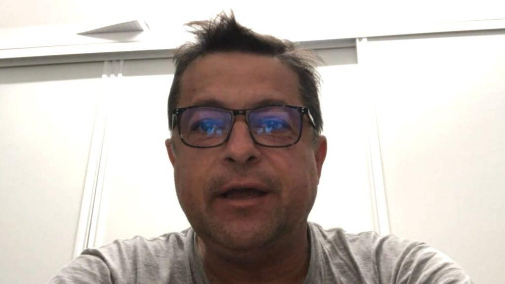 Entrevista con el vulcanólogo Pedro Hernández en Informativos Telecinco