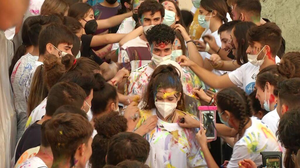 Centenares de alumnos de Medicina celebran San Lucas en Granada