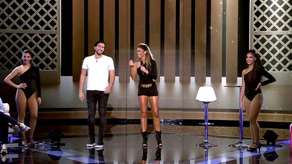 Lara Álvarez y Gianmarco Onestini se trasforman en Beyonce y bailan el 'single ladies'