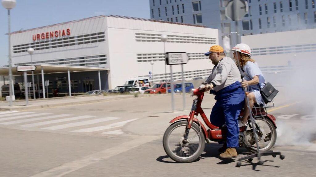 ¡A la fuga! 'El Ovejas' ayuda a Elisa a escaparse del hospital