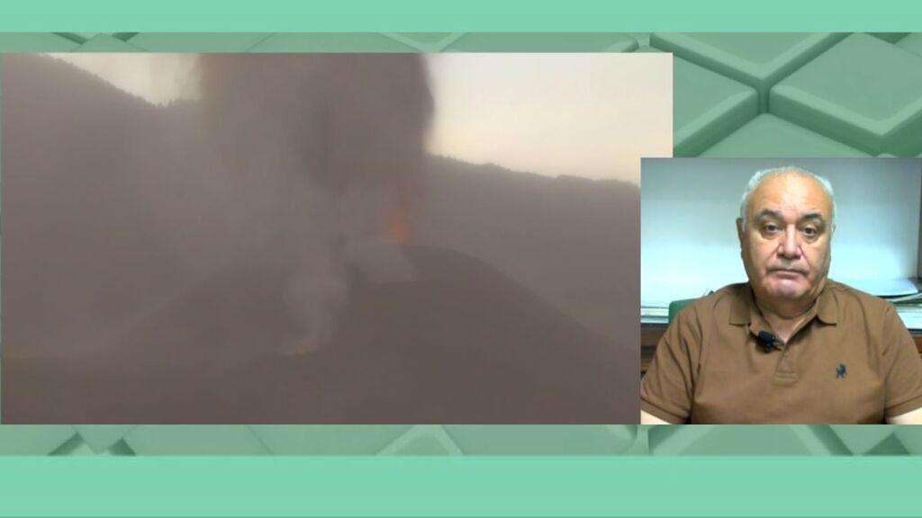 El vulcanólogo alerta de la calidad del aire en La Palma