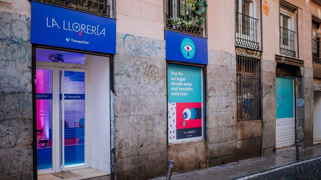 Abre en Madrid La Llorería para visibilizar la salud mental: algunos psicólogos