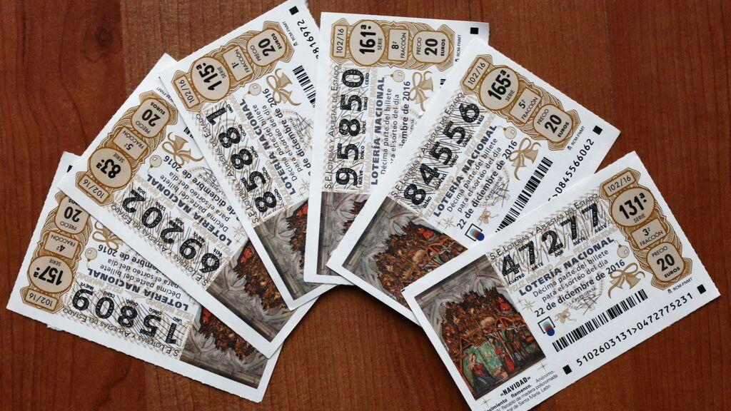 Números gafados de la Lotería de Navidad
