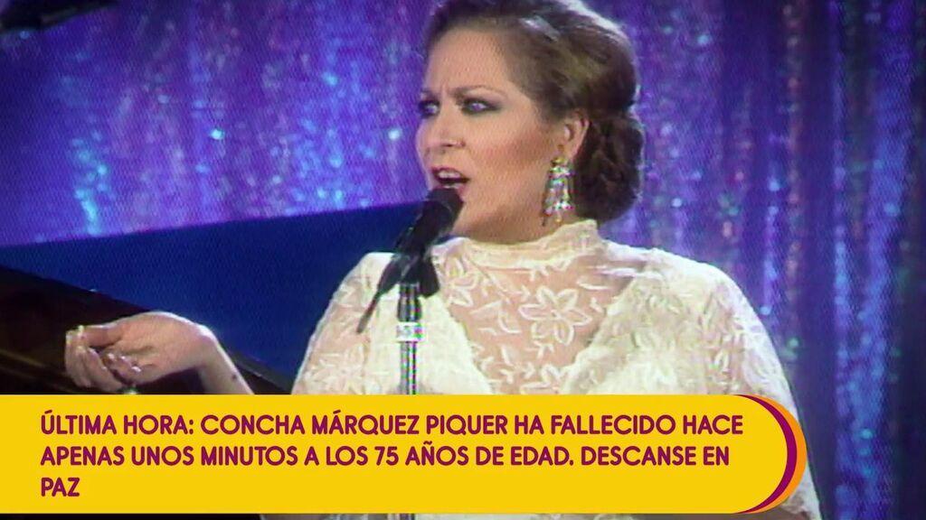 Muere Concha Márquez Piquer a los 75 años