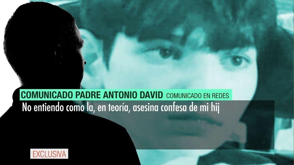 """El padre de Antonio David: """"No entiendo nada..."""""""