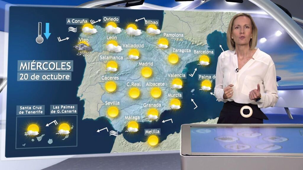 Último día de 'veranillo' generalizado en España: el tiempo que hará el miércoles