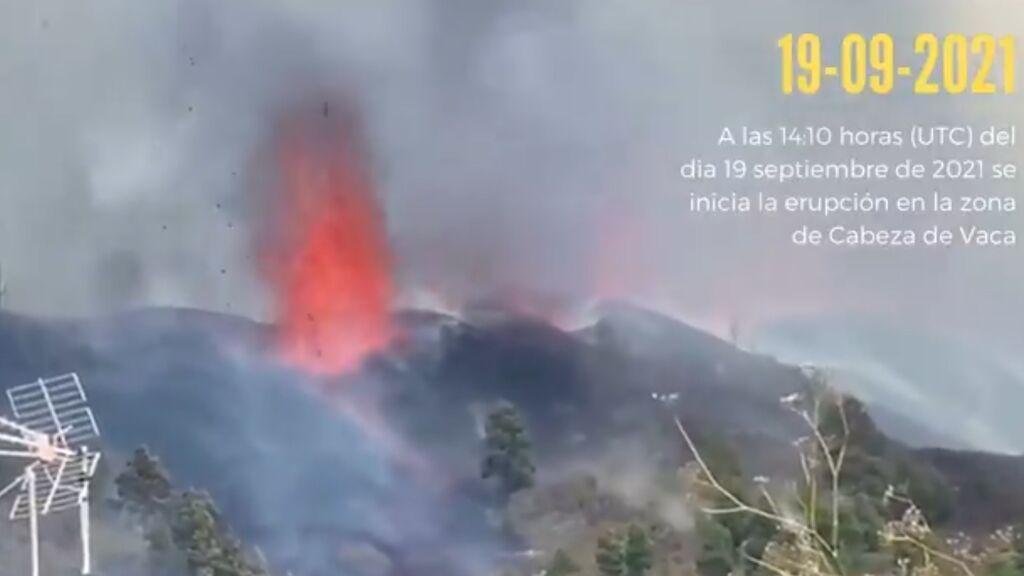 Así ha sido el mes de erupción del volcán de La Palma