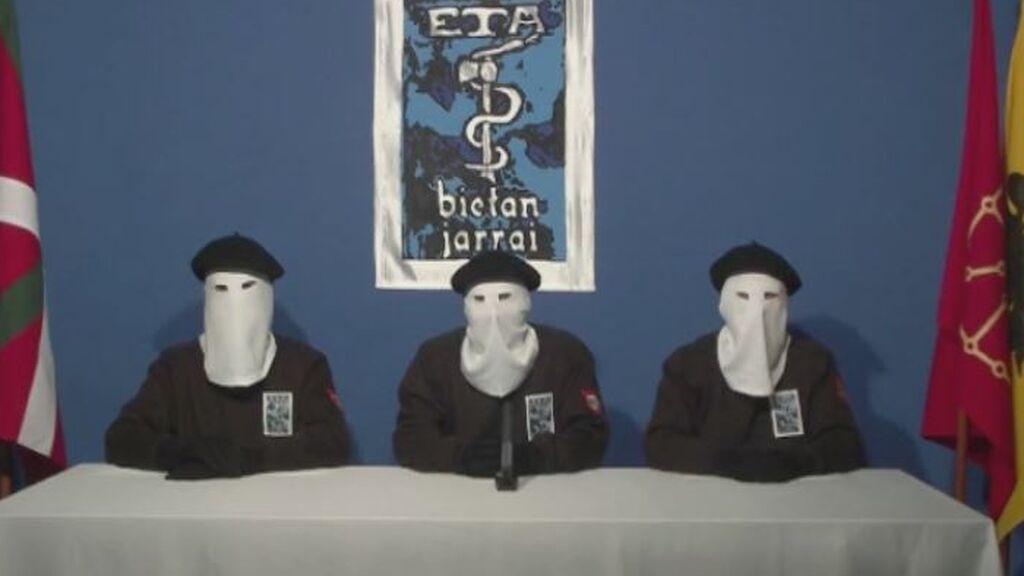 Comunicado de ETA anunciando el fin de la violencia