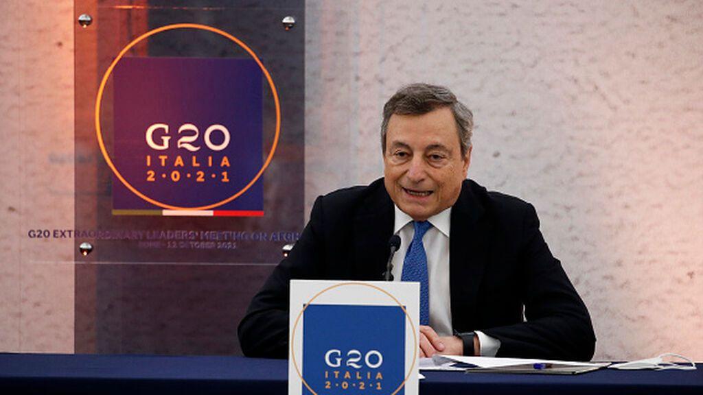 La llamada de Draghi a Putin para hablar de refugiados y Afganistán