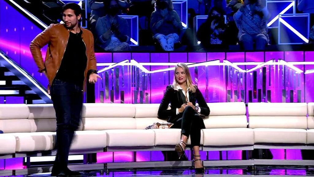 La bachata más sensual de Gianmarco en directo: Alba Carrillo le rechaza como pareja de baile