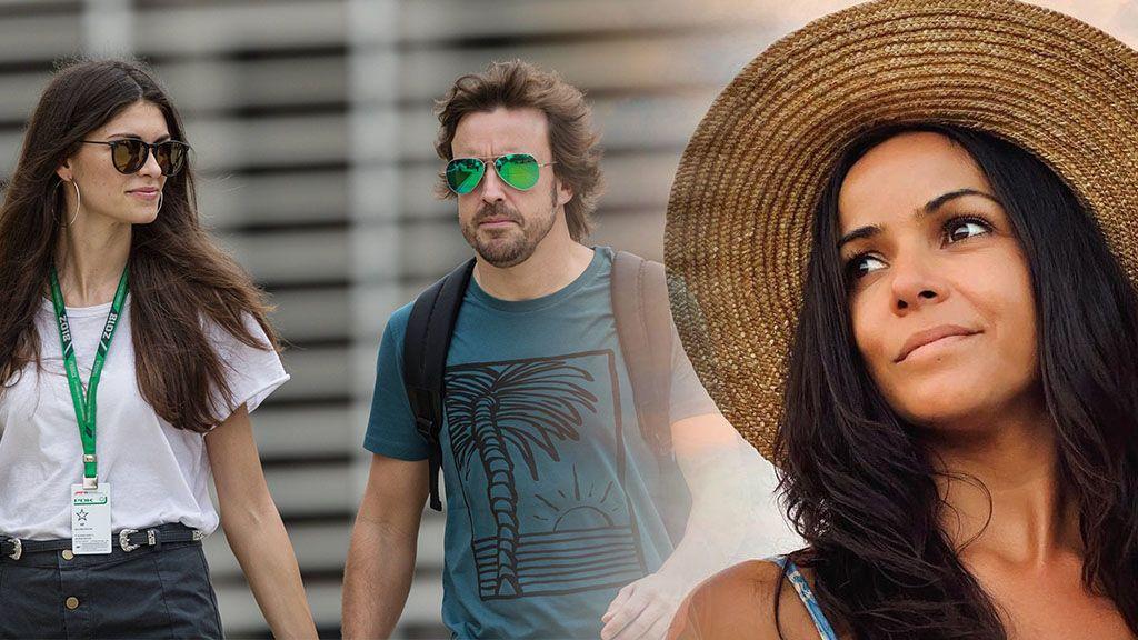 """Fernando Alonso y su novia arropan a Raquel del Rosario tras enfrentarse a un puma para salvar a su hijo: """"Toda mi admiración"""""""