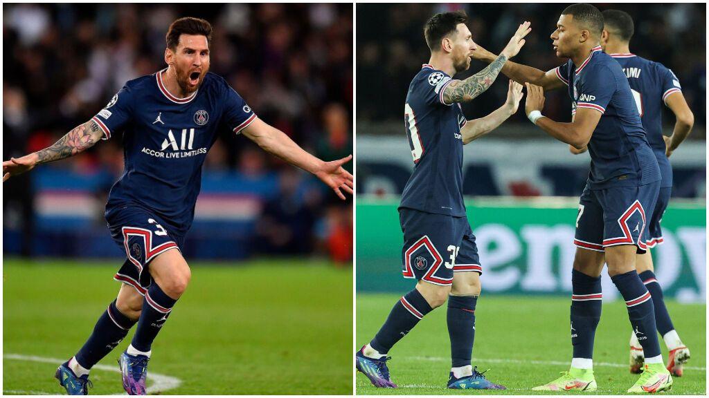 Messi, a lo panenka, sale al rescate de un PSG que no acaba de convencer