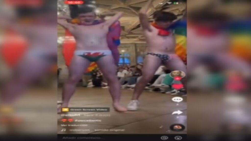 El colegio de Leonor en Gales celebra su semana 'queer' con un cabaret y un desfile con 'striptease'