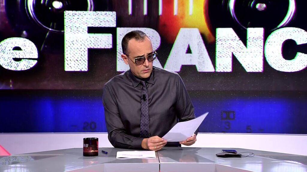 El comunicado de la familia Franco