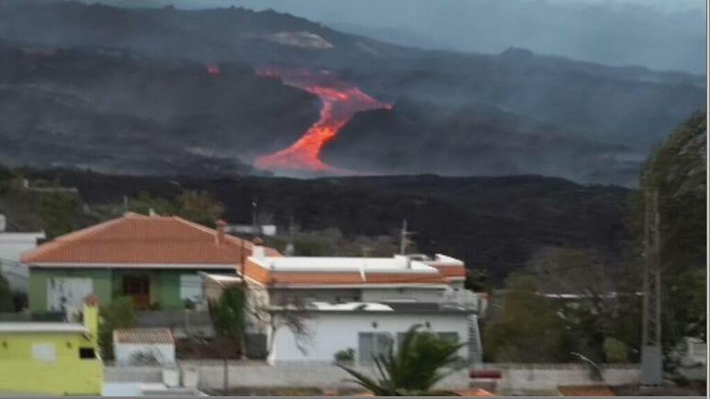La lava del volcán de La Palma llega a La Laguna
