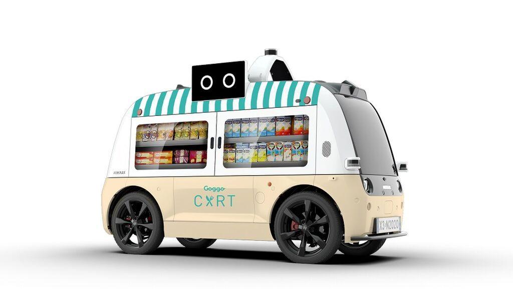 El primer food truck eléctrico y autónomo de España: así es el Goggo Cart