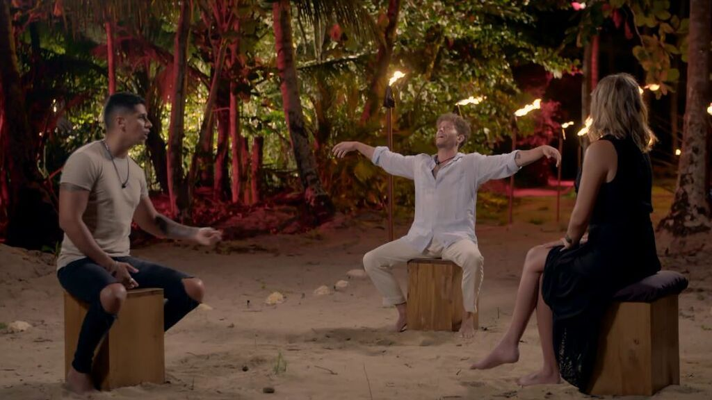 El tensísimo (y lleno de provocaciones) 'Círculo de fuego' de Christofer y Gonzalo