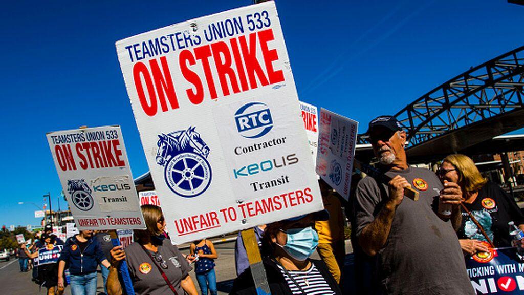 El striketober o la gran huelga de octubre en Estados Unidos