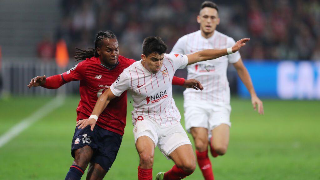 El Sevilla y Lille empatan a nada y dejan los deberes pendientes (0-0)