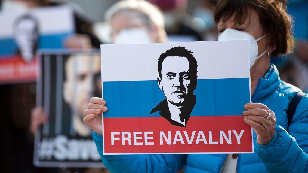 El opositor ruso Navalny, premio Sajarov 2021 del Parlamento Europeo