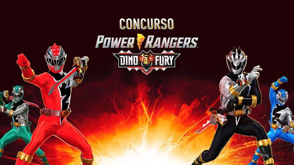 ¿Quieres la nueva espada de los Power Rangers? ¡Participa en el concurso!