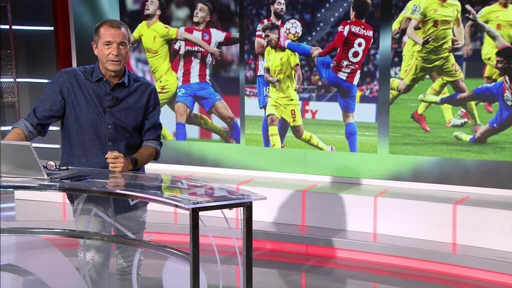 """""""El Atlético-Liverpool era uno de los mejores partidos de la Champions hasta que se lo cargó el árbitro"""""""