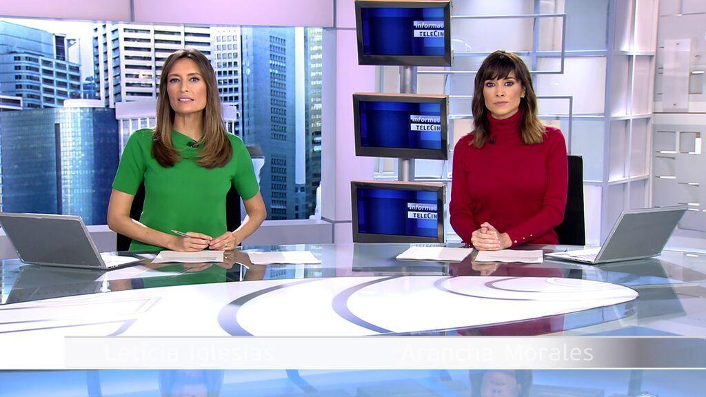 Con Arancha Morales y Leticia Iglesias Informativos Telecinco 2021 Matinal 20/10/2021