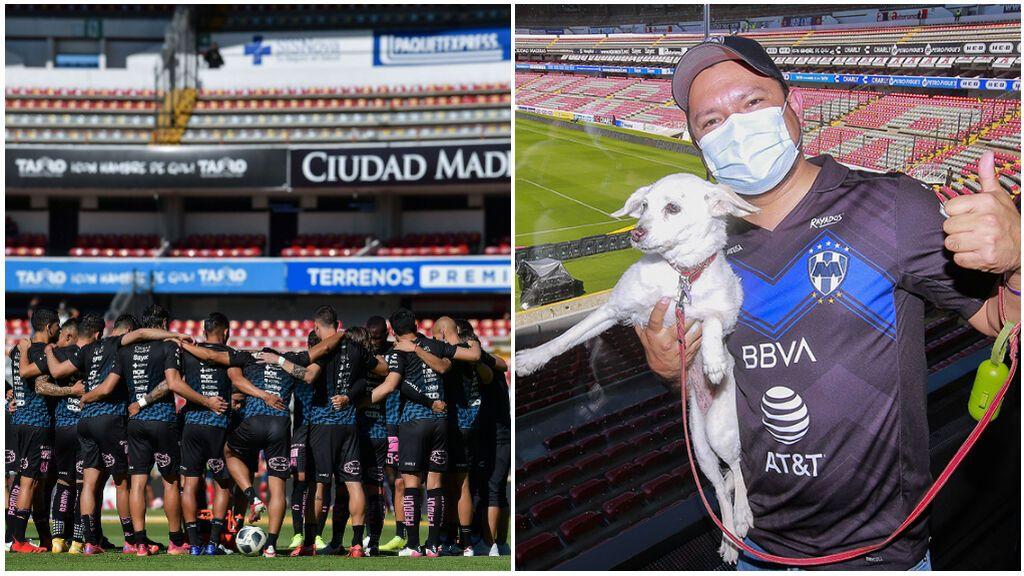 El estadio mexicano de La Corregidora hace historia: dejará a sus aficionados acudir a los partidos con sus mascotas