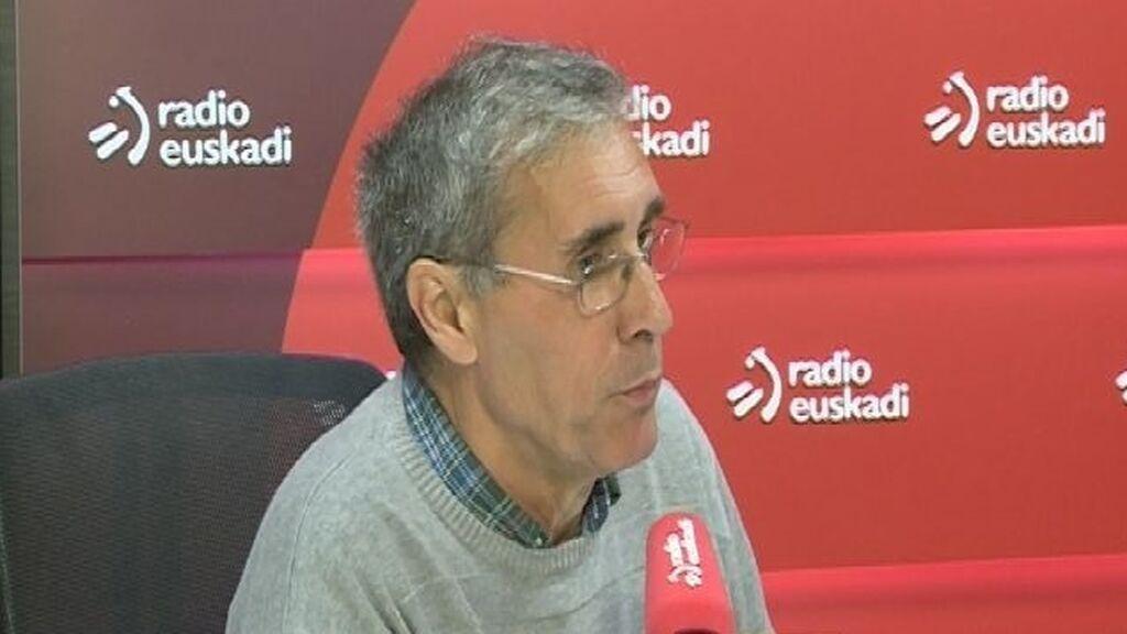 Urrusolo Sistiaga es uno de los expresos firmantes de la declaración