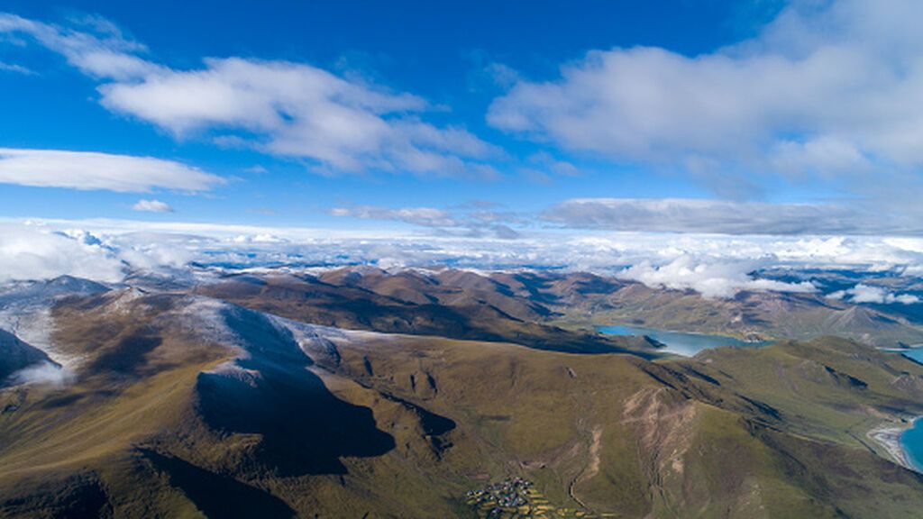 El deshielo de los glaciares está llenando la meseta tibetana de enormes y profundos lagos
