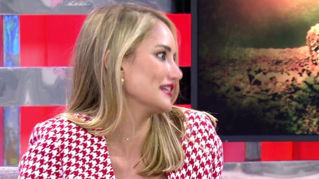 Alba Carrillo ha hablado con la chica con la que se relaciona a Antonio David