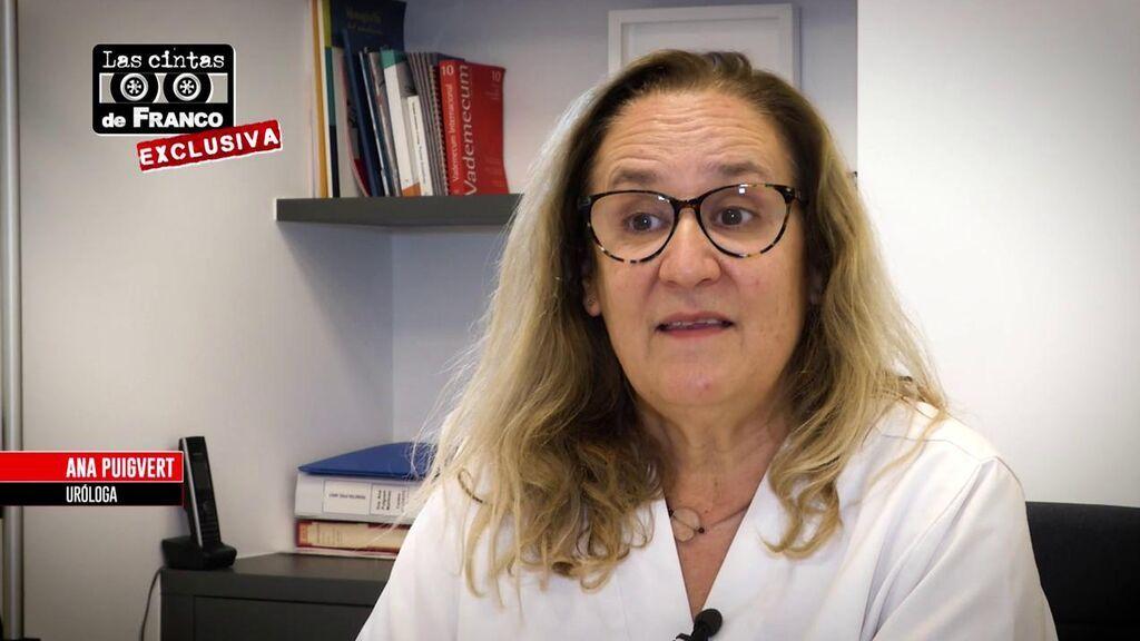 Ana Puigvert, nieta del urólogo de Franco