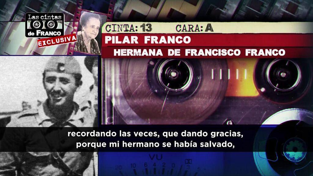 La hermana de Franco habló de la infancia del dictador