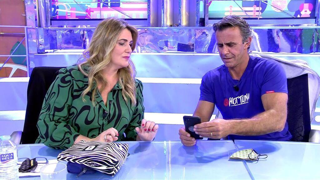 Alonso Caparrós se mosquea con las insinuaciones que le relacionan con la mujer que podría estar con Antonio David Flores