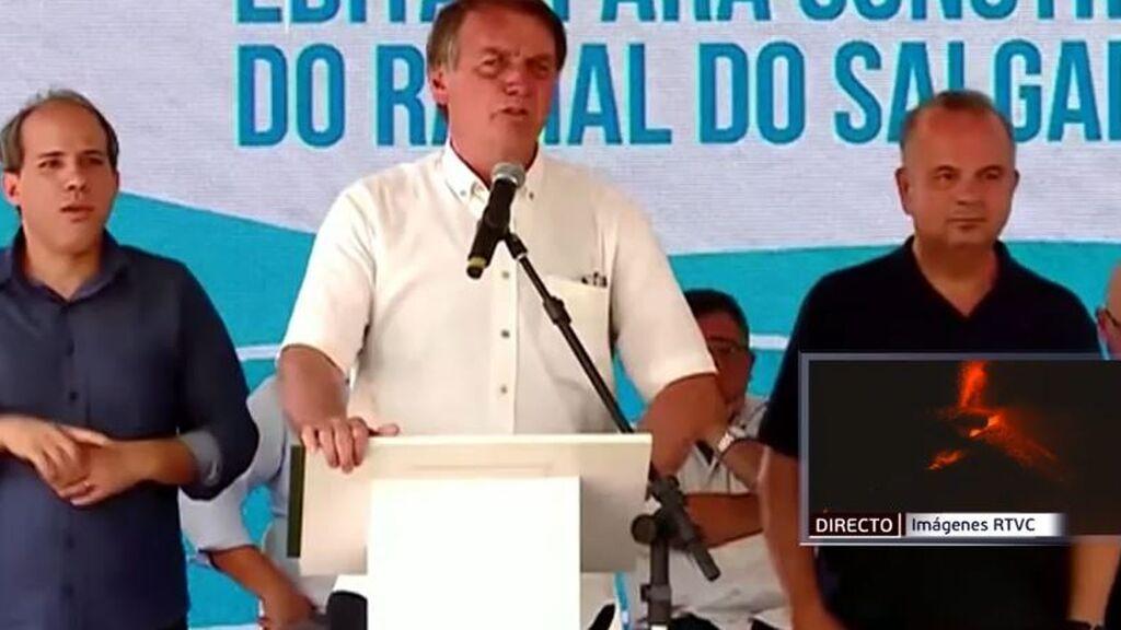 Bolsonaro, acusado de crímenes contra la humanidad