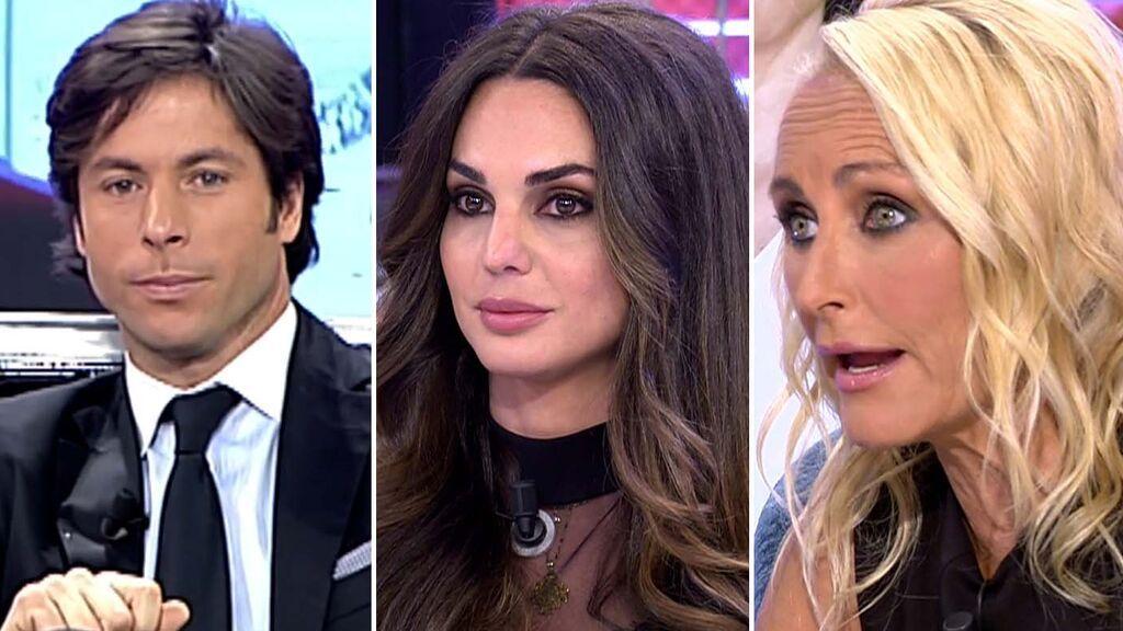 Canales Rivera, Cynthia Martínez y Lucía Pariente