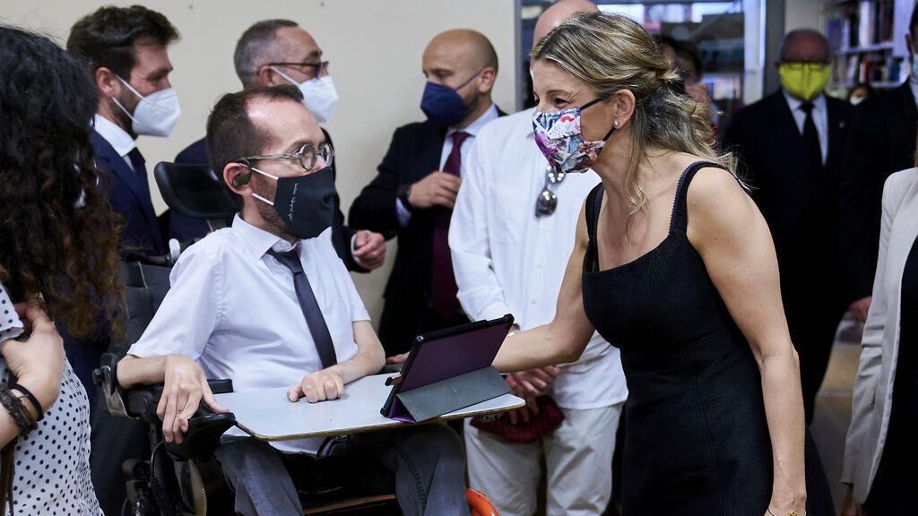 Podemos insta a Ribera a apretar más a las eléctricas: pide recortar el 99% de los beneficios caídos del cielo