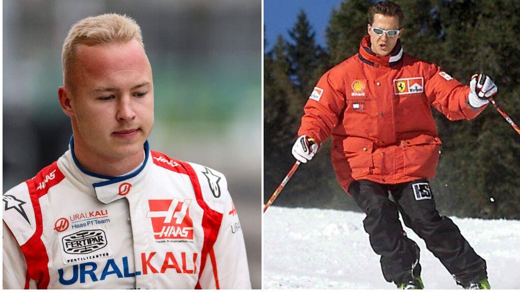 """Mazepin revela que estaba al lado de Schumacher cuando tuvo el accidente de esquí: """"Fuimos los primeros en enterarnos"""""""