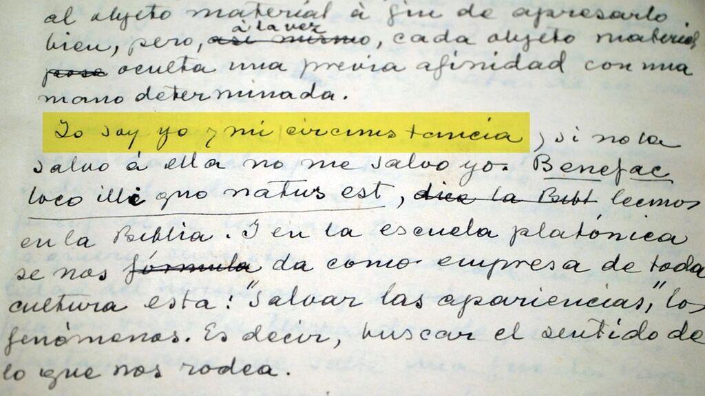 La biblioteca y el archivo personales de Ortega y Gasset
