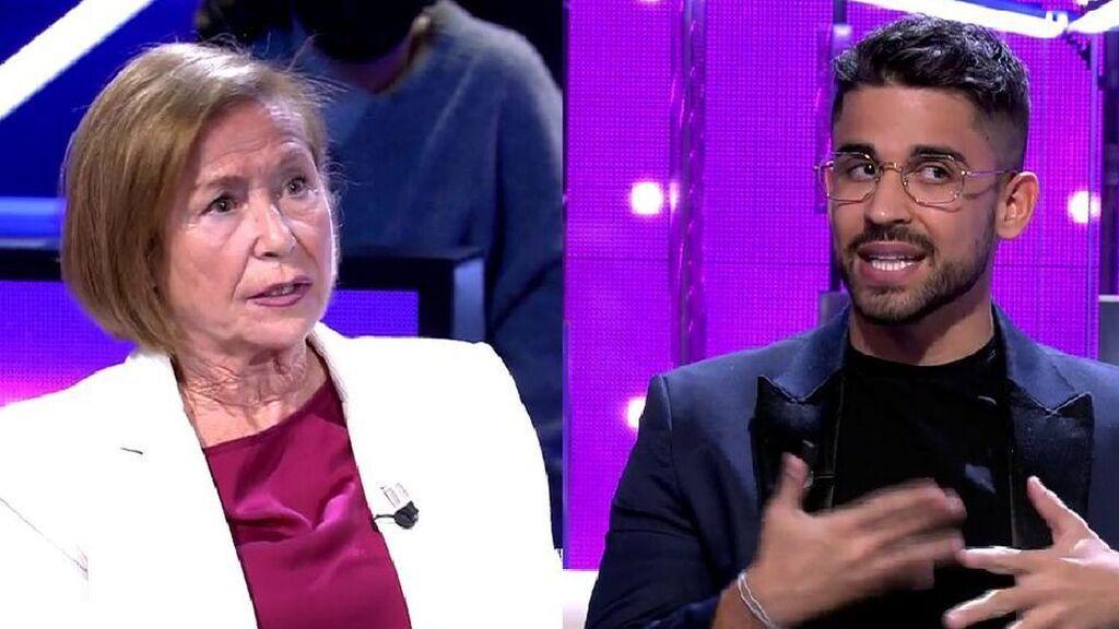 """El enfado de Mari, la abuela de Julen, con Miguel Frigenti: """"Es obsesión lo que tienes con mi nieto"""""""