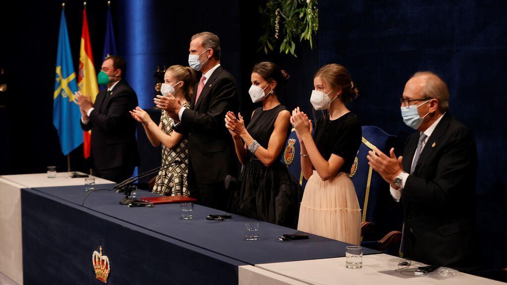 El Teatro Campoamor vuelve a disfrutar de los Premios Princesa de Asturias: los momentos clave en la ceremonia