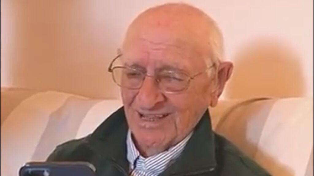 """La sorpresa de Rafa Nadal al felicitar a un hombre por sus 90 años: """"Ha sido un cumpleaños inolvidable"""""""